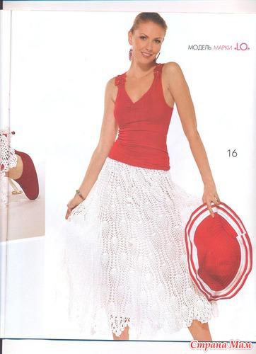 взята из журнала мод №507