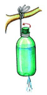 Рукомойник из пластиковой бутылки и шприца своими руками