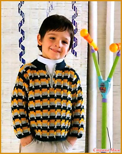 Схема вязания крючком.