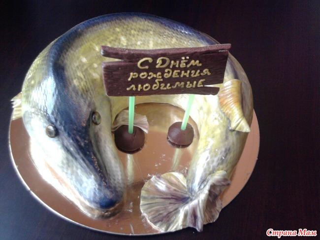 Рыба торт 2 фото