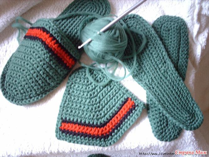 Размеры стопы для вязания крючком