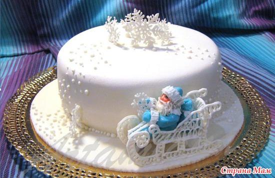 Торт с новым годом картинки