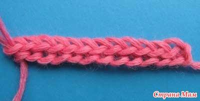 Вязание цепей