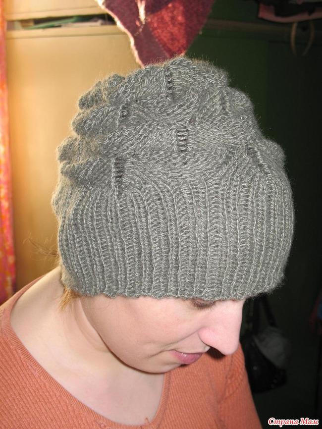 Осинка вязание шапки для женщин