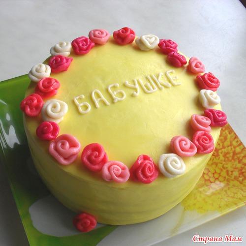 фото тортов бабушке
