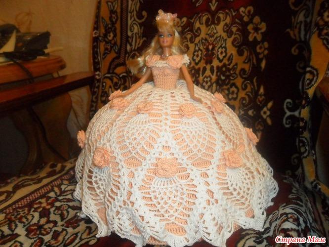 Для куклы барби схемы вязания