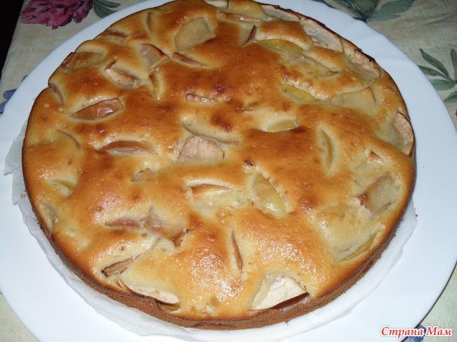 Яблочные пироги на простоквашеы