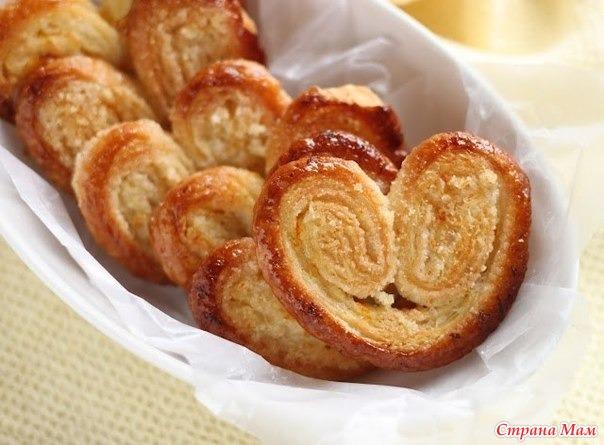 печенье творожное слоеное рецепты с фото