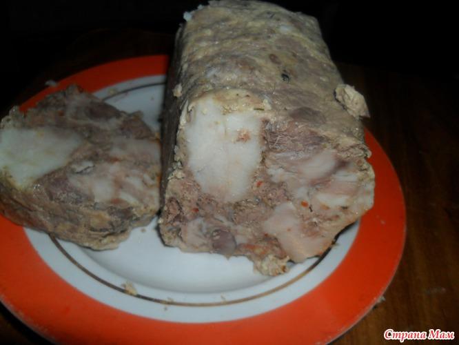 Ветчина духовке рецепт фото