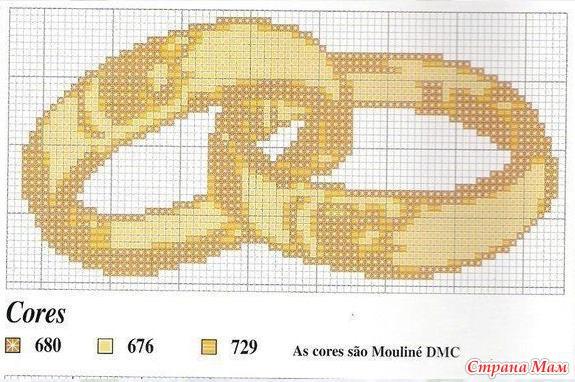 Схема для вышивки бисером