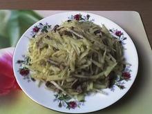 Горячий картофельный салат