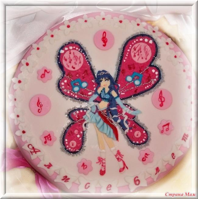 мастичные торты детские винкс фото