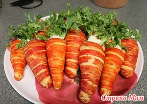 . «Салат в морковке»