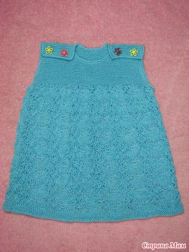 Вязание спицами на девочек 1 год