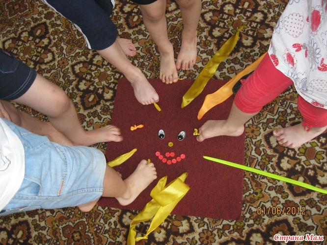 Детские коврики для профилактики плоскостопия своими руками