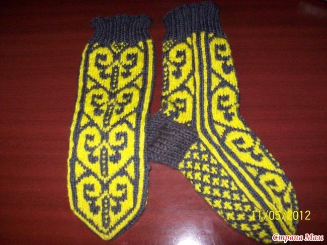вязание спицами носки спицами или как вязать джурабы обсуждение