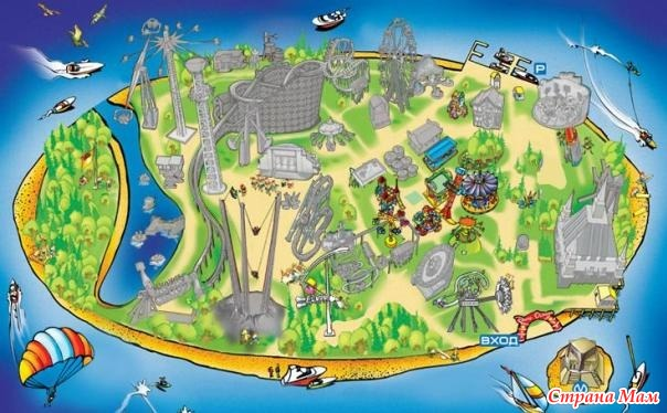 Сценарий остров развлечений
