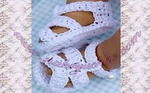 16 апр 2013 Мастер-класс по вязанию крючком детских сандликов-пинеток. .  Часть 1. Подробное описание этого МК можно...