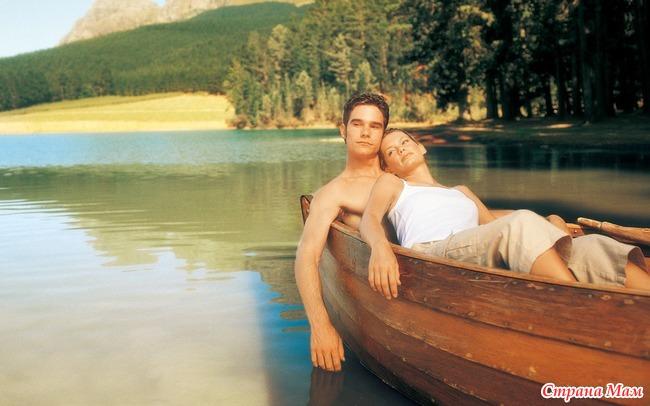 плыть нате лодке любви