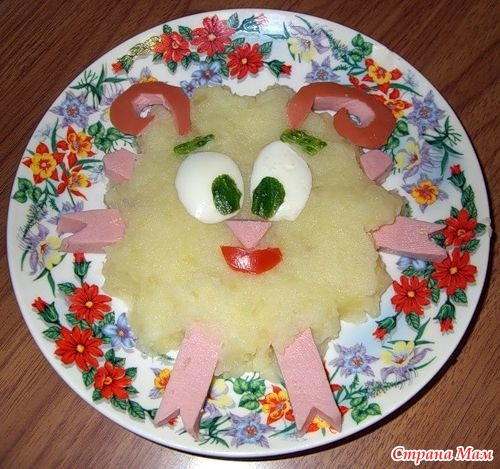 Блюда для ребенка в