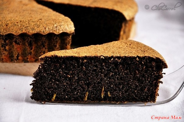 Маковый пирог пошаговый рецепт с