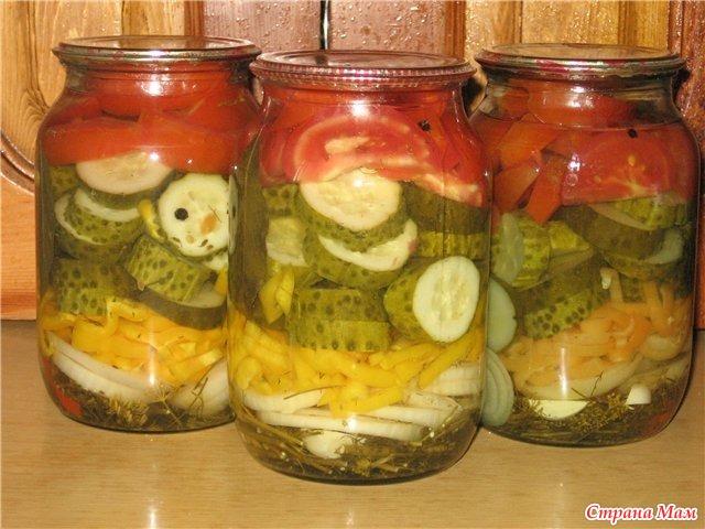 Заготовки на зиму рецепты с фотографиями салаты