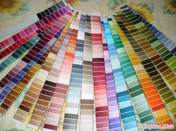 Цветовые гаммы своими руками