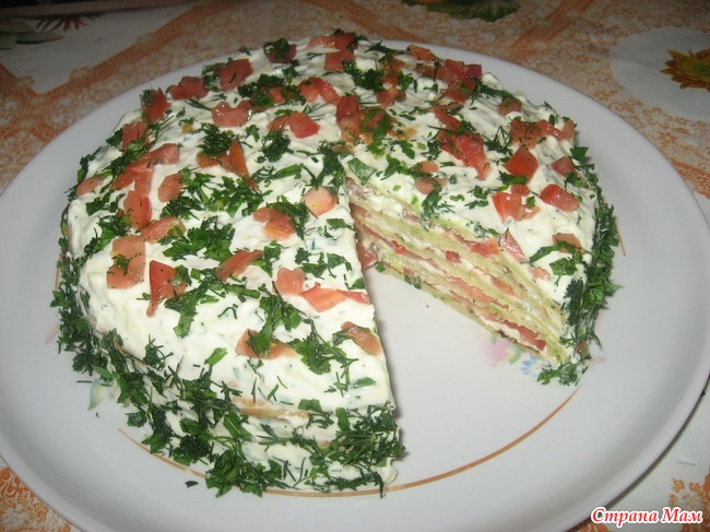 Торт из кабачков и помидор рецепты быстро и вкусно с фото