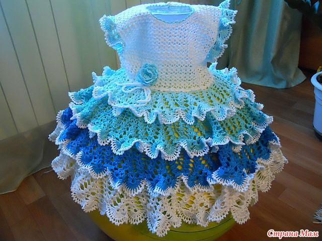 Платье для девочки может кому