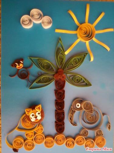 Поделка для детского сада