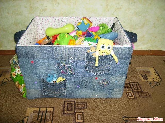 Сшить короб для игрушек мк с фото 51