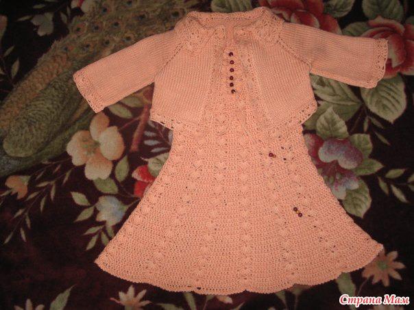 Вязание болеро для девочки 4 лет 710