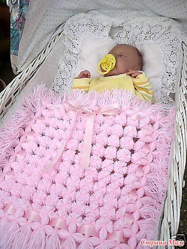 Для новорожденных плед