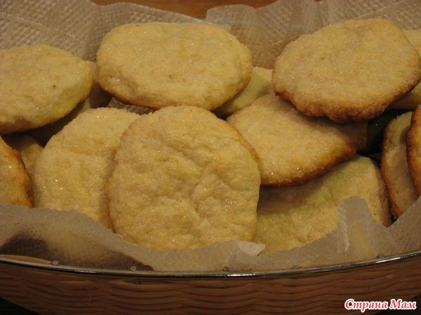 Печенье со сметаной рецепты фото простые