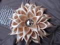 Аксессуары ручной работы.  Ярмарка Мастеров - ручная работа резинка для волос из атласной ленты.  Handmade.