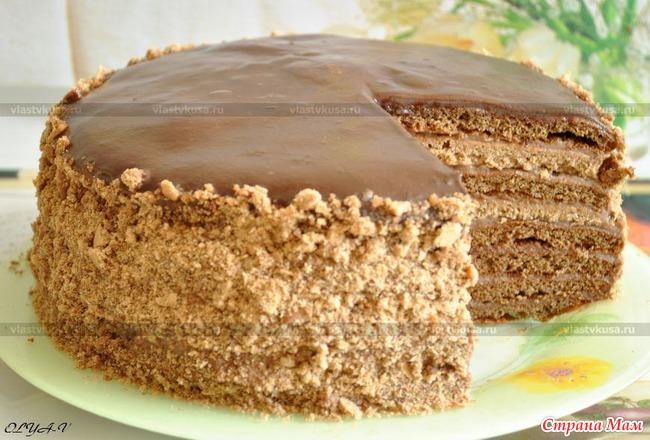 Торт каприз рецепт с фото пошагово