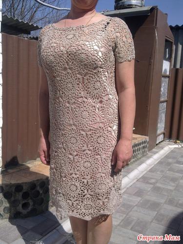 Платье мотивами