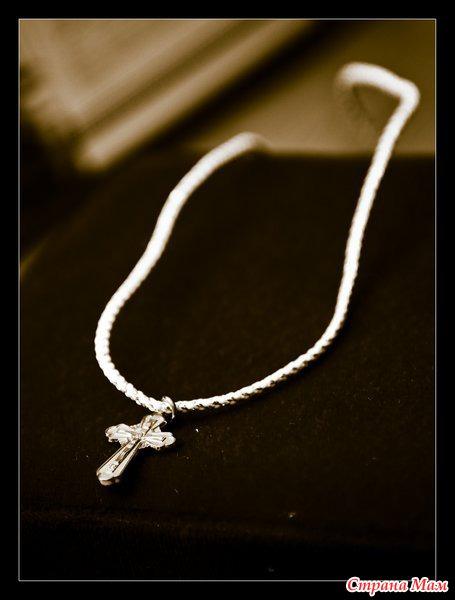на чем носить золотой крестик
