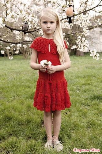 Платье для девочки от кутюр