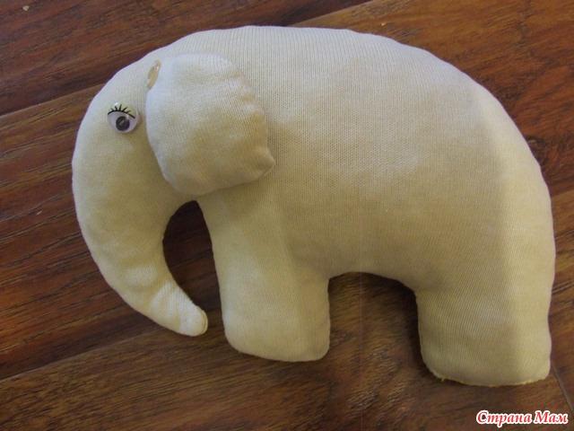 Слоник-моя первая игрушка))) - Игрушки своими руками - Страна Мам