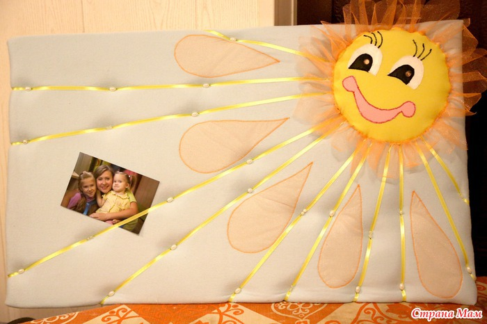 Поделка ко дню матери своими руками солнышко