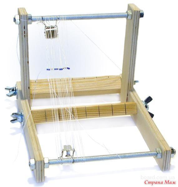Как сделать станок для плетения из бисера в домашних условиях