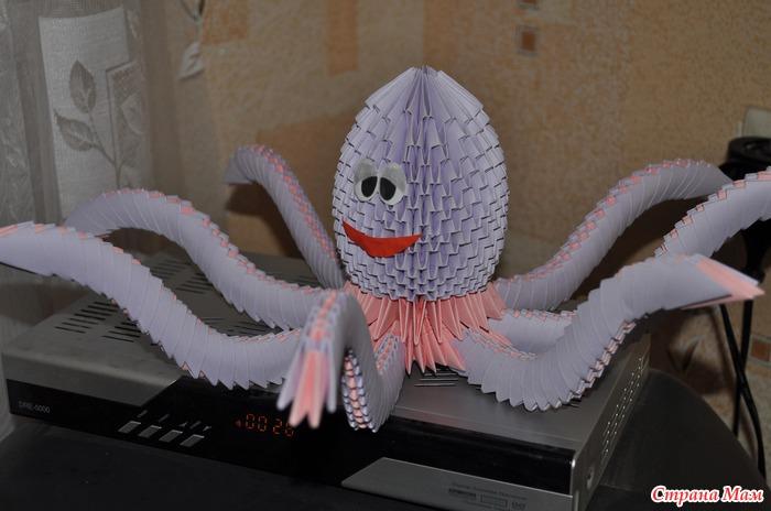 Этого осьминога я сделала