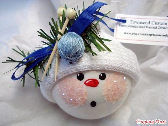 Интересные новогодние игрушки на елку своими руками - Xaxatalka.ru