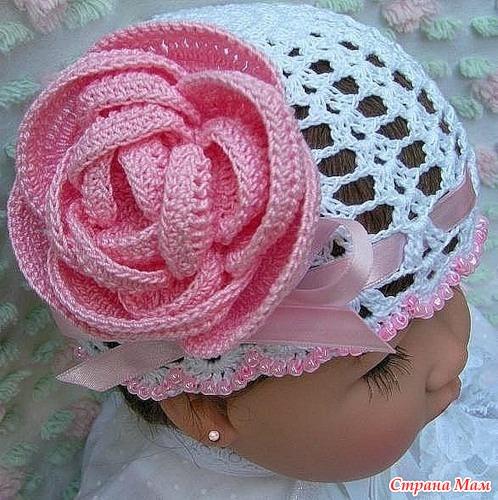 Как вязать такой цветок?