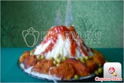 Праздничное горячее блюдо пошаговый рецепт