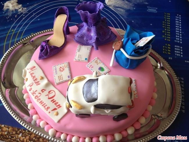 торт любимой маме фото