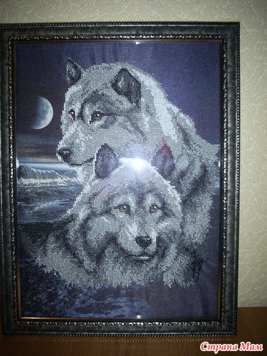 Волки - Схемы и наборы вышивки бисером крестом. Схемы