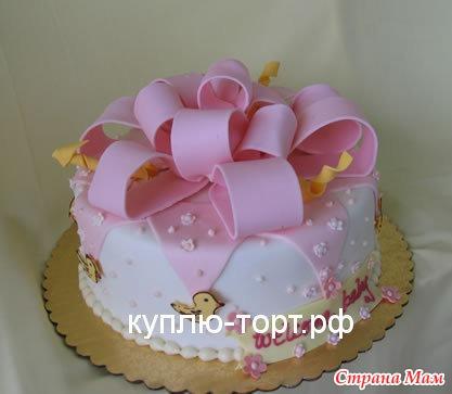 Торты на день рождения для маленьких фото