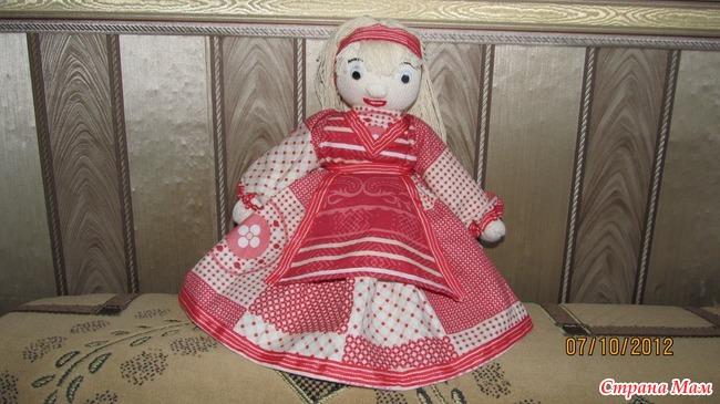 Как сделать куклу из тряпок